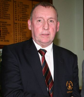 New Captain at County Armagh Golf Club Richard Black